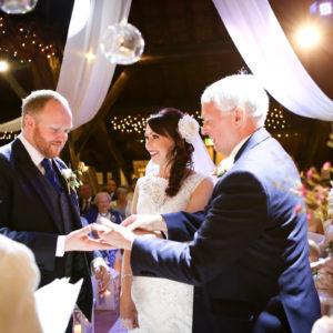 Wedding Photography at Rivington Hall Barn in Bolton