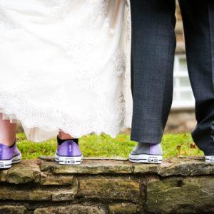 Photo of wedding shoes